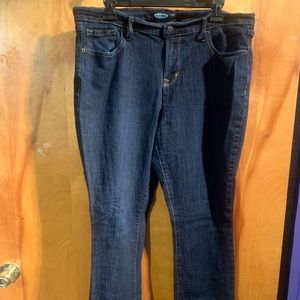 Old Navy 14 Curvy mid-rise jeans